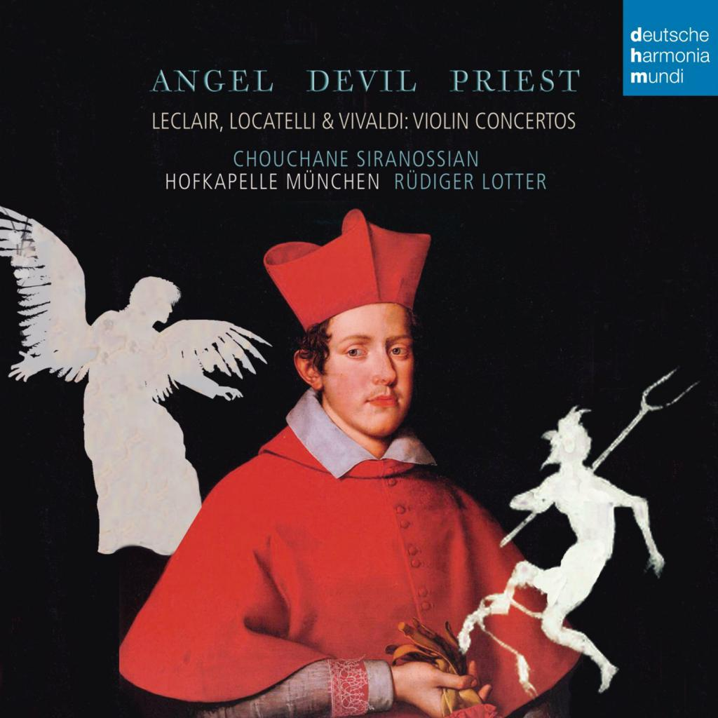 Angel, Devil, Priest - Violin Concertos